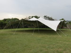 Stretch Tent Tarps For Africa
